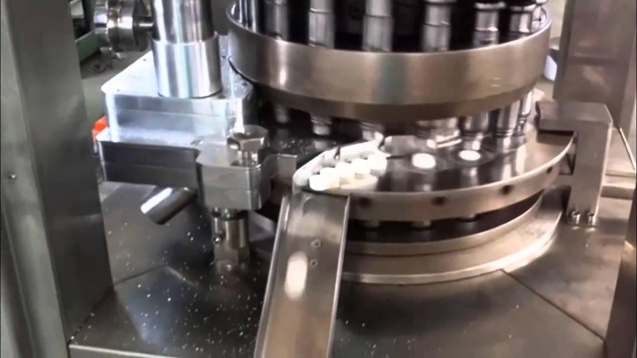 máy đột dập viên thuốc