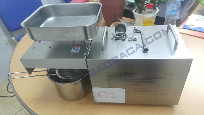 máy ép dầu gia đình 3-4kg/h