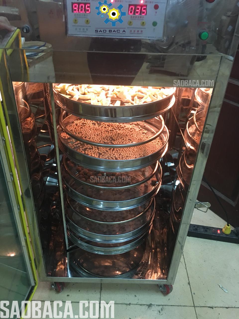 Máy sấy- Tủ sấy chè, dược liệu, thực phẩm giữ hương 8 khay tự động