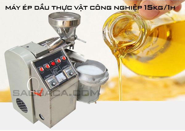 Máy ép dầu cho hộ kinh doanh 6YL-30 15kg/1h