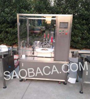 máy chiết rót serum tinh dầu mỹ phẩm