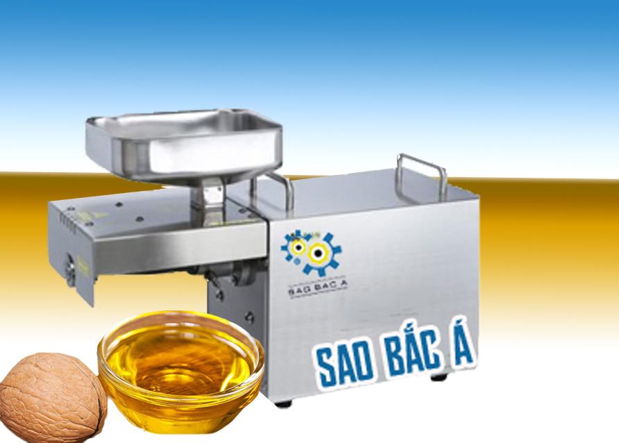 máy ép dầu hạt óc chó