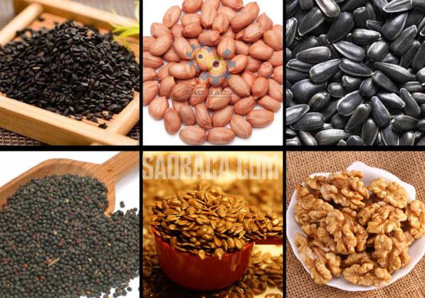 các loại hạt ép dầu