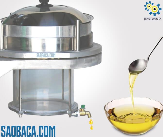 máy ép dầu thực vật có bầu lọc 15kg/h