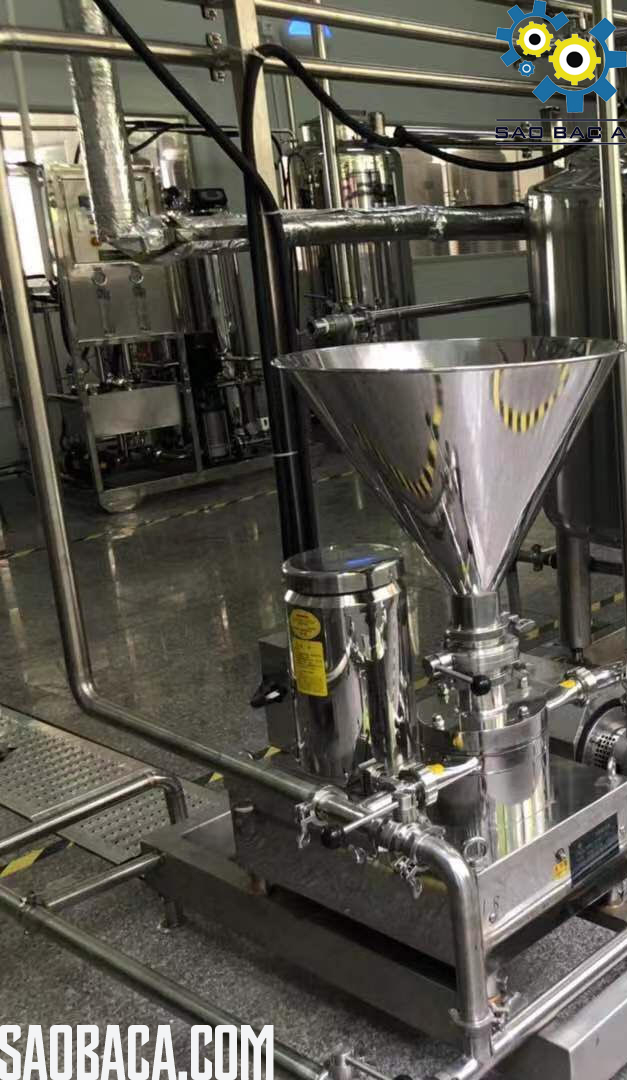 dây chuyền sản xuất máy làm sữa chua